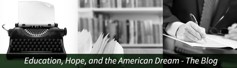 Education, Hope and the American Dream Image